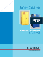 Kewaunee Safety Cabinets - Flammable & Corrosive Storage