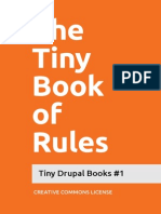 The Tiny Book of Rules
