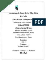 Laboratorio Elec & Magn 2