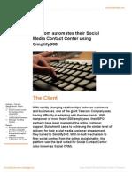 Telecom Automates Their Social Media Contact Center Using Simplify360