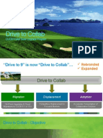 Drive to Collab Customer Presentation 2010