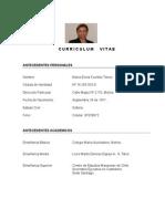 Curriculum Abril 2015.