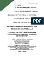 PROYECTO  INSTITUCIONAL PCD