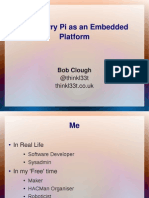 Raspberry Pi as an Embedded Platform