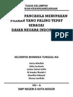 Mengapa Pancasila Merupakan Pilihan Yang Paling Tepat Sebagai Dasar Negara Indonesia