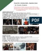 Superhero Revision Pack