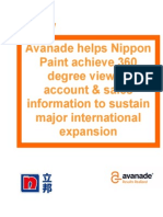 Nippon Paint Casestudy