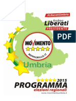 Programma Umbria 5 Stelle
