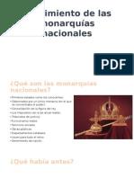 Surgimiento de Las Monarquias Nacionales