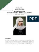 5- Guion Misa Santa Laura Montoya