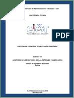 AUDITORÍAS TRIBUTARIAS DE LOS SECTORES DE GAS, PETRÓLEO Y LUBRICANTES EN BOLIVIA