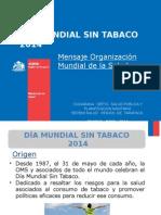 Dia Mundial Sin Tabaco 2014 Ok