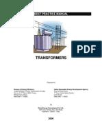 Best Practice Manual -Transformers