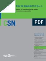 GSG-05.03 R1 Control de La Hermeticidad de Fuentes Radiactivas Encapsuladas