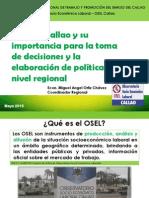 El OSEL Callao y su importancia para la toma de decisiones y la elaboración de políticas a nivel regional