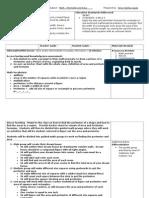math area and perimeter lesson plan