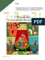 MolkoWilson Dehaene Dyscalculie La Recherche 2004
