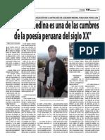 José Córdova en el VP Semanario