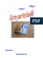 project portefeuille in tetra  1b