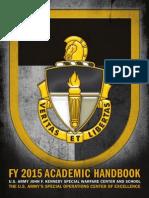 JFKSWCS_FY15_AcademicHandbook