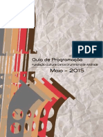Agenda Maio - Fundação Cultural Carlos Drummond de Andrade
