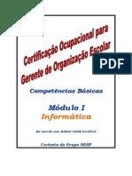 CGOE Módulo I - Informática