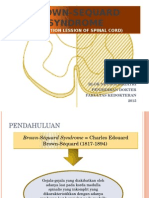 Brown Sequard Syndrome