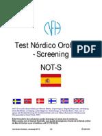 Test Nordico Orofacial