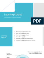 Learning Abroad