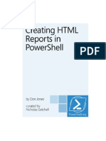 PowerShell Creating HTML Reports In