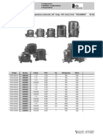 Catálogo Compresores Tecumseh