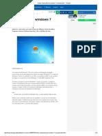 Quitar Contraseña de Windows 7 Manualmente - Taringa!