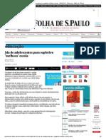 Ida de adolescentes para supletivo 'melhora' escola - 09_06_2014 - Educação - Folha de S