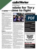 Election result leaflet (Scotland)