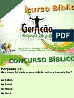 Concurso Bíblico 2011 - 02
