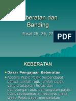Keberatan Dan Banding