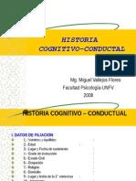 Historia Cognitivo Conductual II Desarrollada