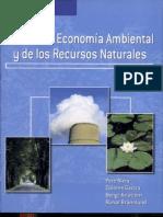 Manual de Economia Ambiental y de Los RRNN