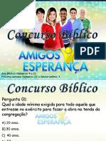 Concurso Bíblico 2011 - 07
