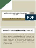 Qué Se Entiende Por Estructura Urbana