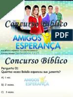 Concurso Bíblico 2011 - 08