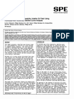 SPE14237-Case Study of a Low-Permeability Volatile Oil Field Using Individual-Well Advanced Decline Curve Analysis