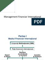 Management financiar international
