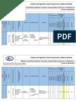 IPERC - Engrase de Equipos y Vehiculos. Ver 01