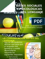 Bases Sociales y Psicologicas Del Lenguaje