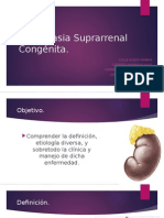 Hiperplasia Suprarenal Cronica