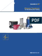 Ultrasonic Transducer Catalog