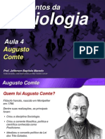 Sociologia Aula4 Augusto Comte