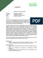 Sílabo - Seminario Cultura Afroperuana - Milena Carranza