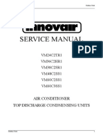 INNOVAIR VM Blutec Condenser Service Manual 2nd Gen